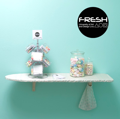 Indigo Paris logo messestand fresh waschsalon